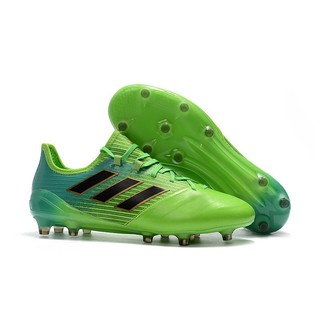 adidas ACE 17.1 Leather FG green mens low sport soccer football shoes 39 45