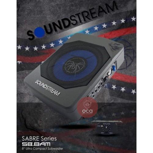 SoundStream Underseat Active Subwoofer SB.8AM (19cm) Car Woofer 350W