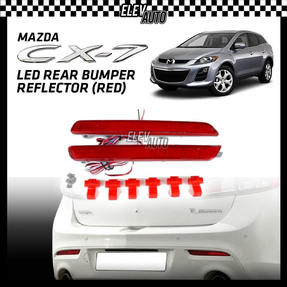 SAXO LED Rear Bumper Reflector (Red) Mazda CX-7 CX7