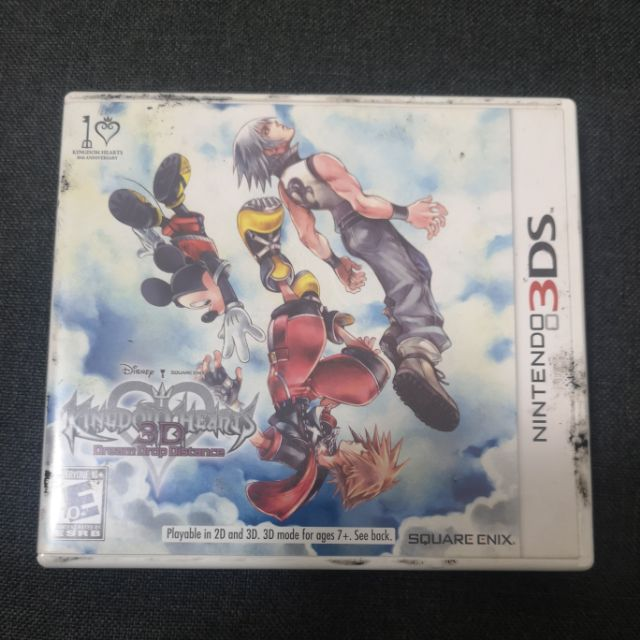 Nintendo 3DS Kingdom Heart  Dream Drop Distance