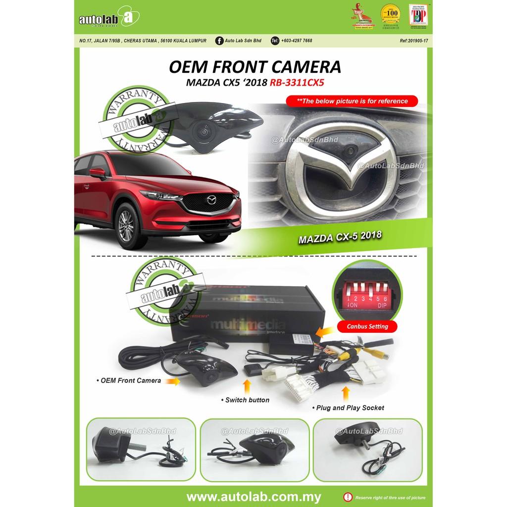 OEM Front Camera For Mazda CX5 2018 (RB-3311CX5)