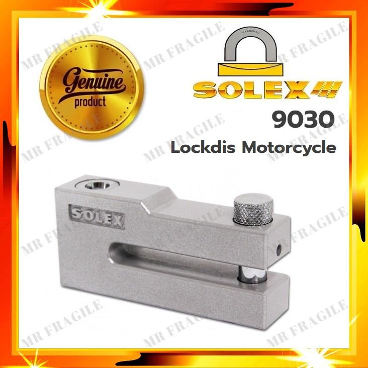 Solex 9030 Premium Motorcycle Disk Lock Heavy Duty / kunci Disc Lock Motor / Brake Lock Moto Antitheft Lock Motorsikal