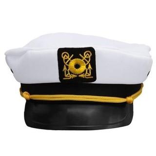O1R-Adult Yacht Boat Captain Hat Navy Cap Ship Sailor  144011abe8fa