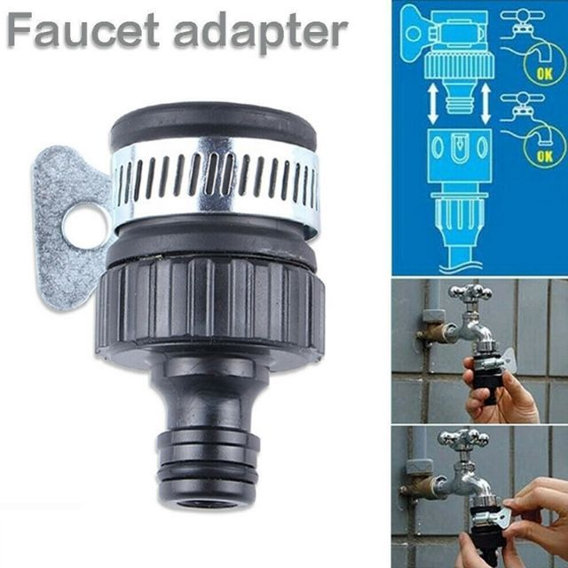 Universal Water Faucet Adapter Tap Connector Kitchen Garden Hose Pipe