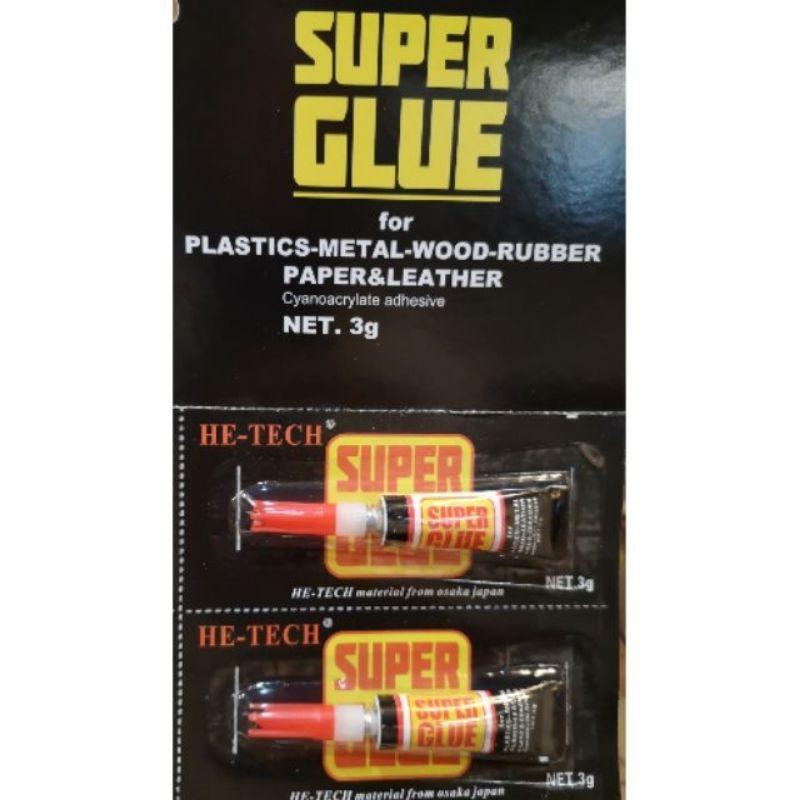 1pcs he-tech Super Glue Ultra Fast 3g