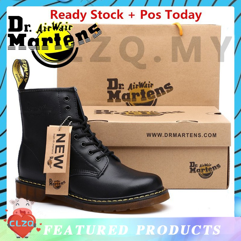 34a28b70f26 🔥Ready Stock!Men's New England Dr.Martens Martin Boots Real Leather Ankle  Boots