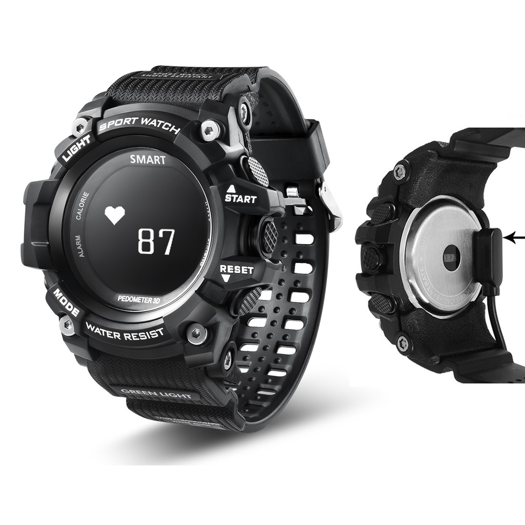 SKMEI Smart Band B16 LED Bluetooth Waterproof Smart Watch | Shopee Malaysia