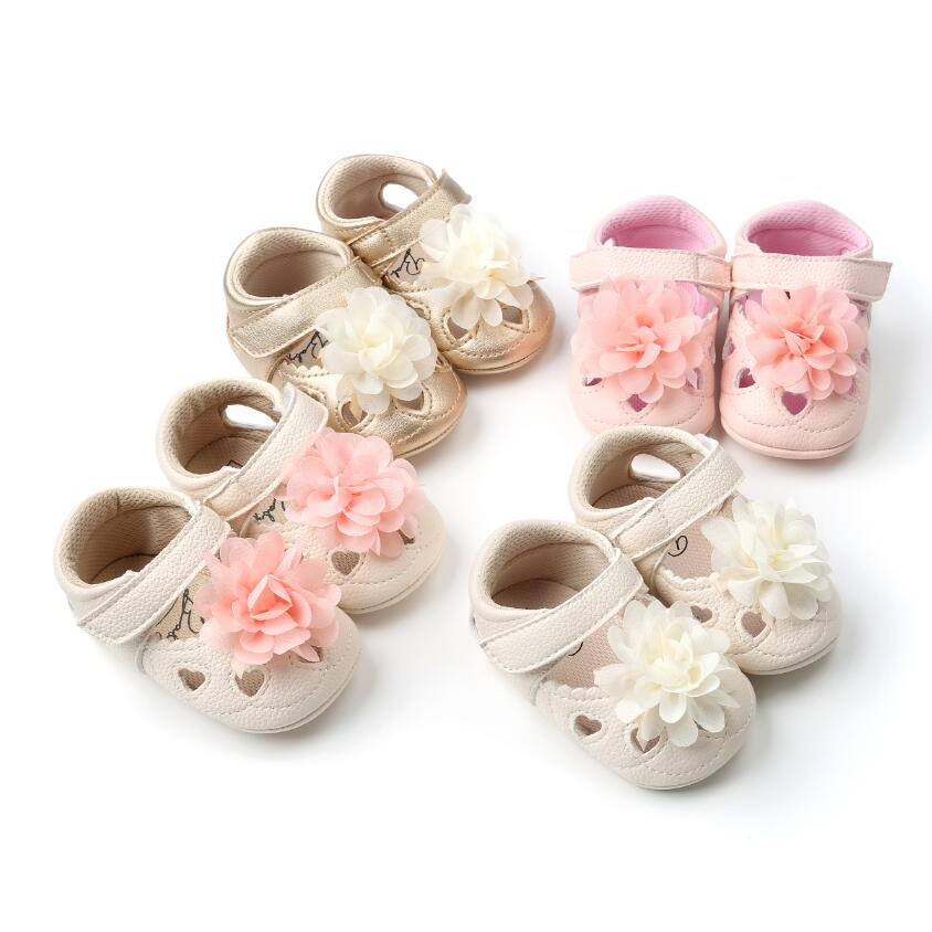 5edc5bd0f5 Pada Wholesale flower style baby girls shoes infants soft sole toddler  moccasins
