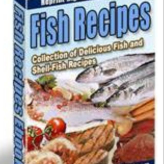 Fish Recipes Cooking Ebook series delicious ingredient