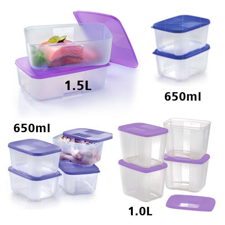 [Tupperware FreezerMate] Small ll 650ml / Small lll 1.0L / Medium II 1.5L / Medium I 550ml