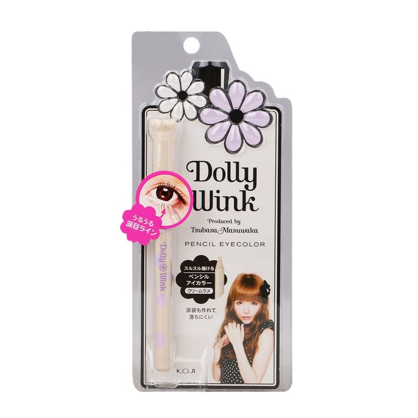 KOJI Dolly Wink Pencil Eye Color - Gold Lame