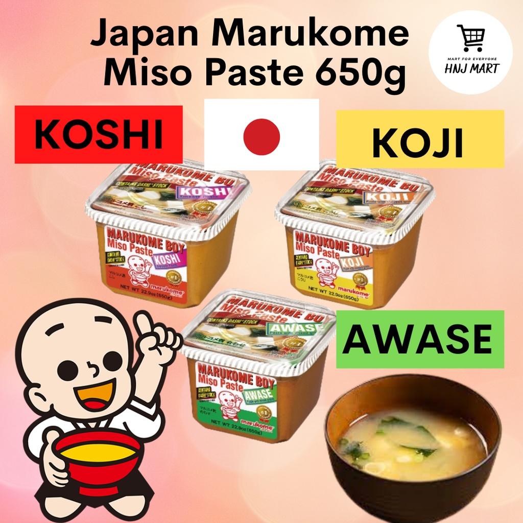 Japan Marukome Miso Paste 650g (Marukome Boy Miso) Awase/Koshi/Koji 日本味增酱 Japan Miso Paste