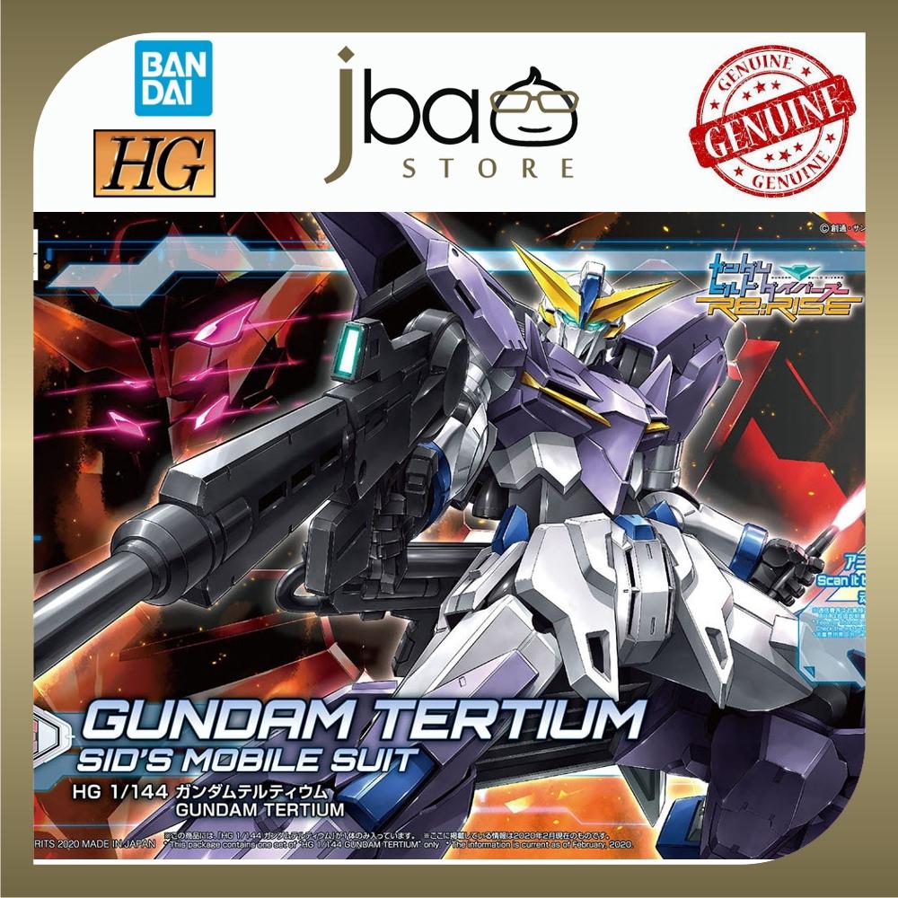 Bandai 1/144 16 Gundam Tertium HGBD Re:RISE SID's Mobile Suit Plastic Model
