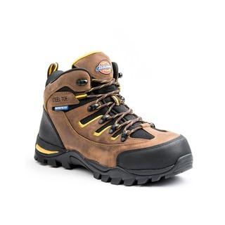 821bbd75c94 Dickies Men's Sierra Steel Toe Work Boots Brown, Brown DW6524 ...