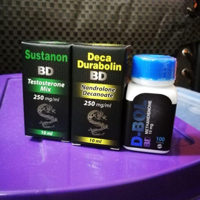 Sustanon + Deca Durabolin + D-bol (Combo Set)
