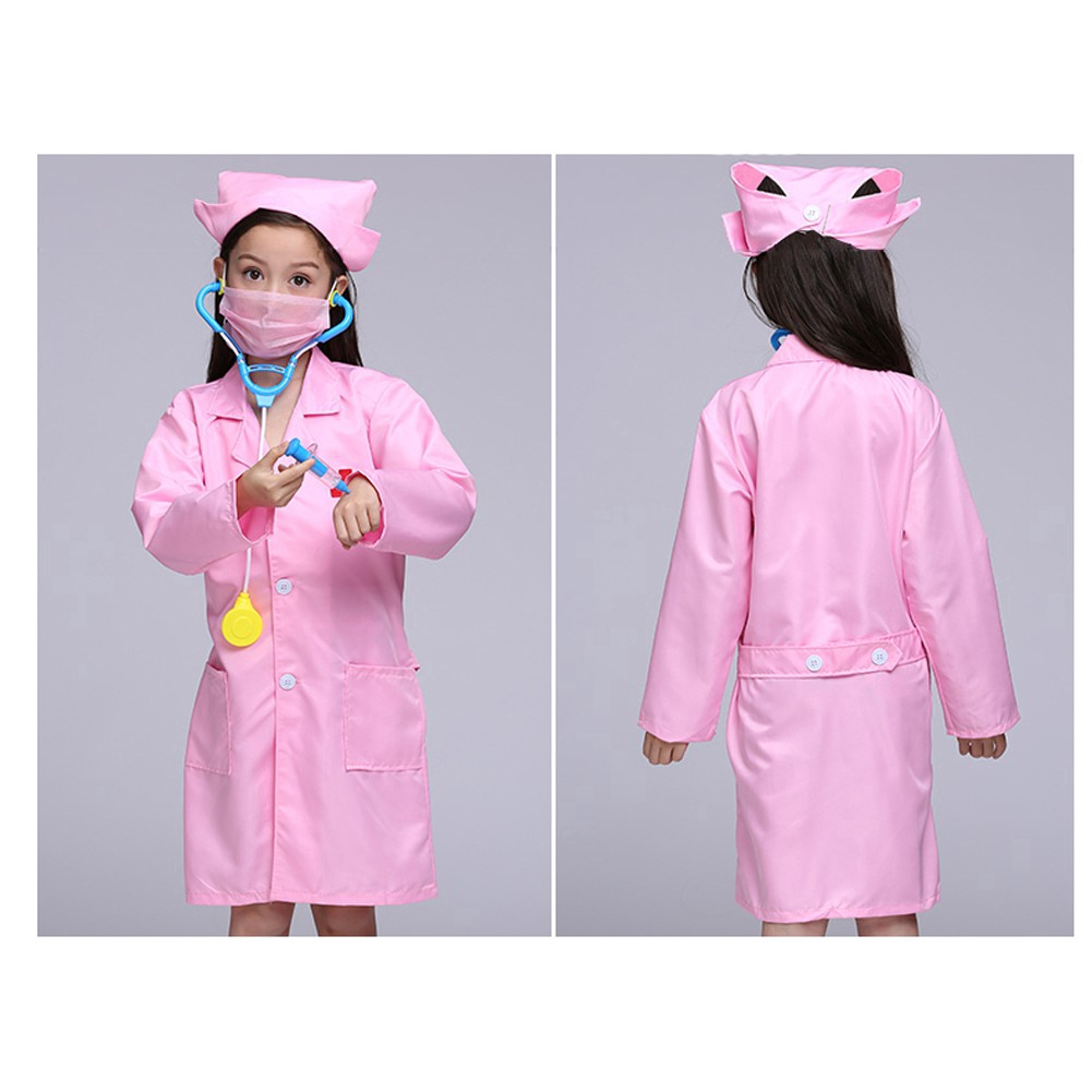 Boy/'s Fancy Dress Bloody Doctor Surgeon Halloween Costume Age 4-12 Years