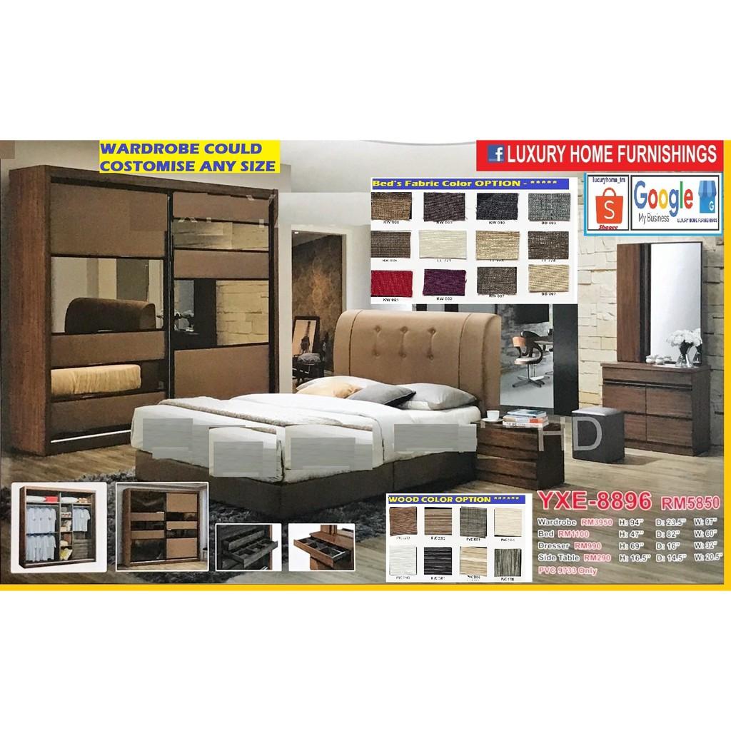 BED ROOM SET, 8'X8' FULL SET, ON THE SUPER SAVER PROMOTIONS