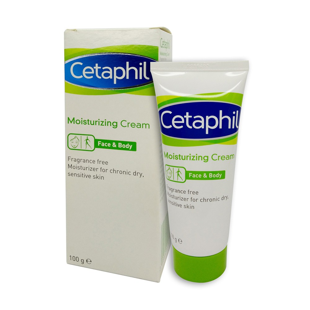 Cetaphil Moisturizing Cream Face Body 100g Shopee Malaysia