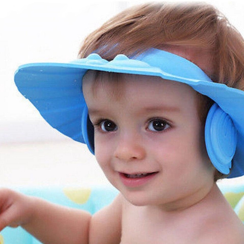Furniture Parts Lovely Children Wash Hair Shower Cap Shield Hat Adjustable Hat Protect Shampoo For Baby Health Bathing 2018 Rapid Heat Dissipation