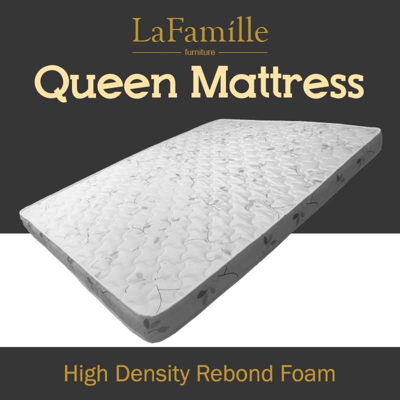 KitchenZ High Density Rebond Foam Mattress / Tilam Queen - Queen Size 5ft x 5