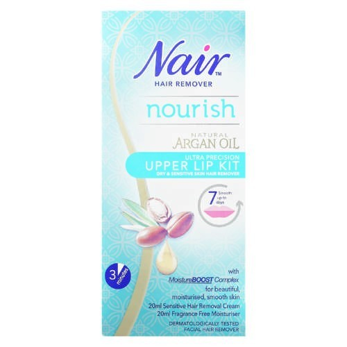 Nair Hair Remover Nourish Upper Lip Kit 20ml Shopee Malaysia
