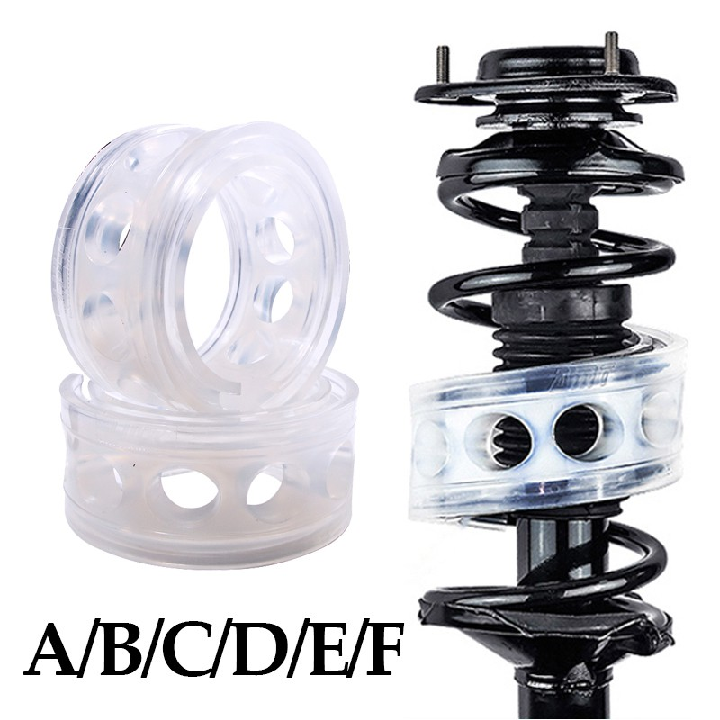 2pc Car Spring Bumper Shock Absorber Coil Urethane Auto Spring Buffers Car  Rubber Buffer For Cars Buffering Cushion Auto