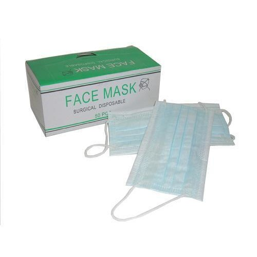 Surgical Face Mask 3 Ply 50\'s x 10 Box