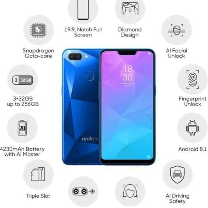 100% Original Realme C2 { 2GB+16GB / 3GB + 32GB } Ready stock