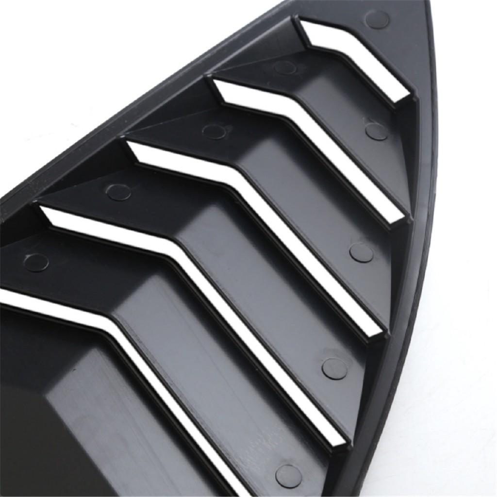Rear Louver Quarter Window Panel For 13-18 Scion FRS Subaru BRZ Toyota 86 GT86