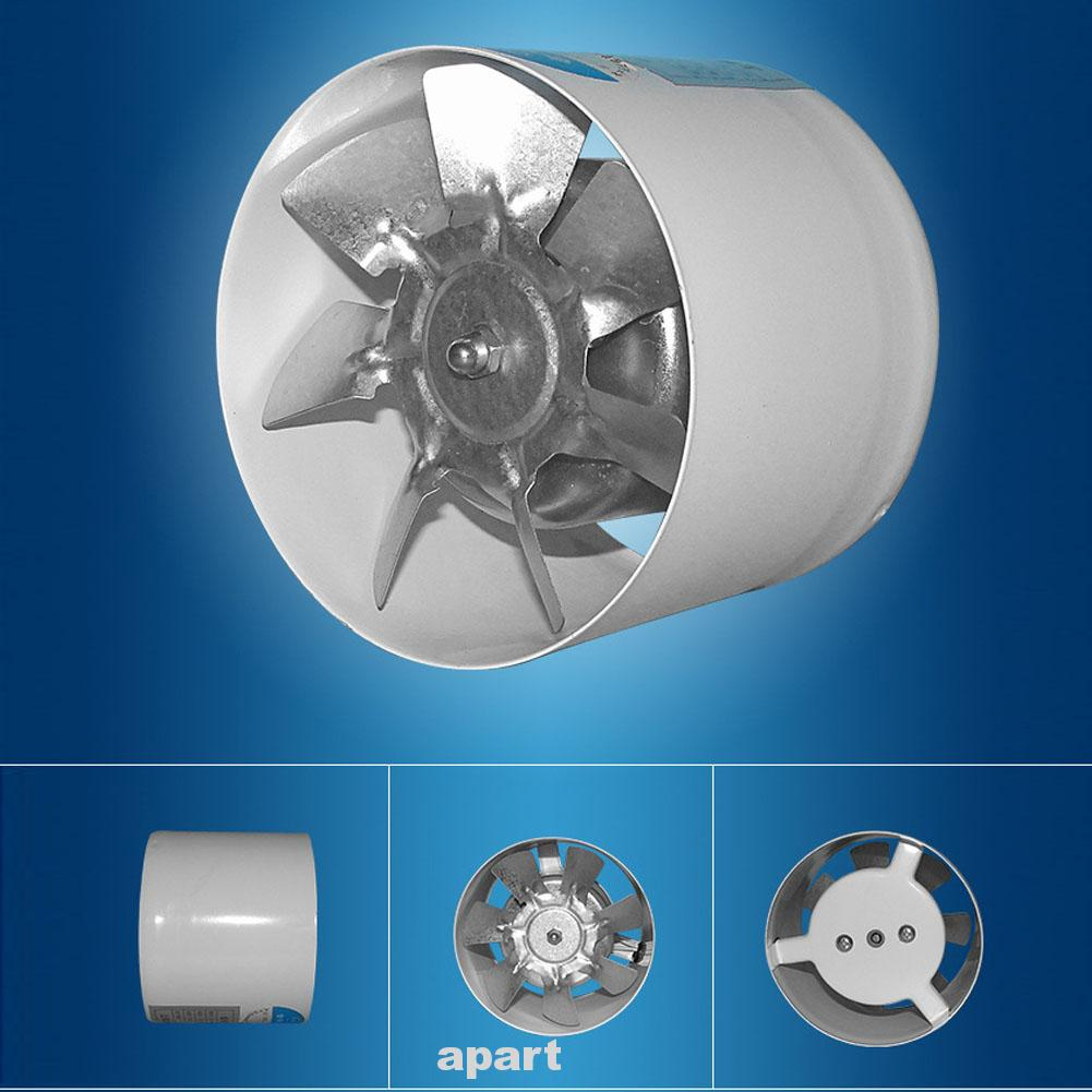 Quiet Easy Install Cooling Inline Bathroom Kitchen Exhaust Fan Shopee Malaysia