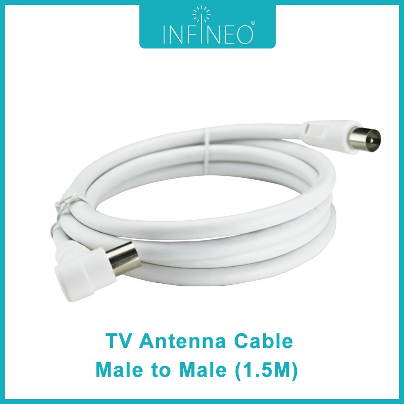 TV Antenna Cable Male to Male (1.5m)