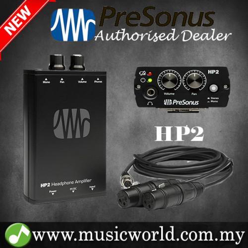 PreSonus HP2 Personal Headphone Amplifier Battery-powered ... on