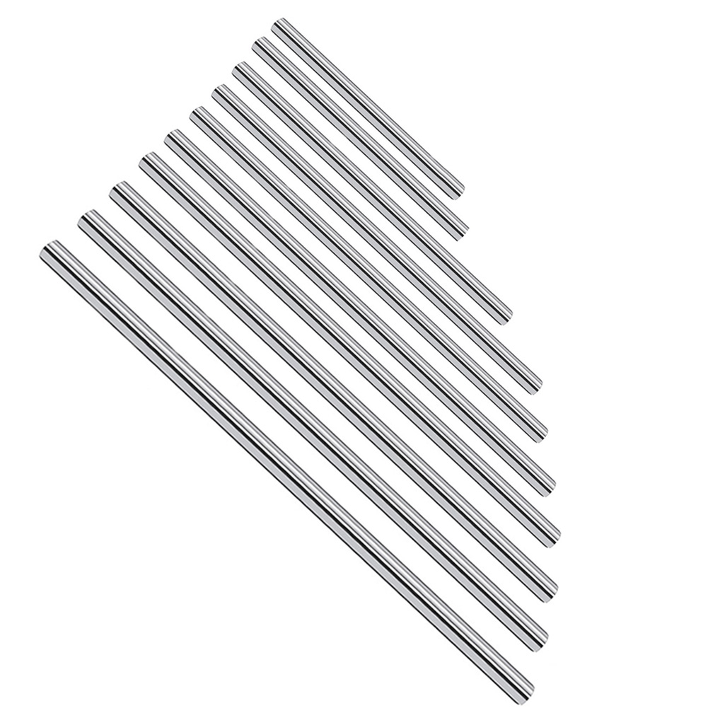 Professional Durable Chromed Carbon Steel Rub Resistance Smooth Office Replacement Easy Install Linear Rail Shaft