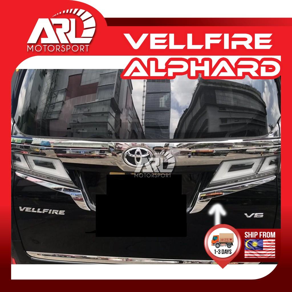Toyota Alphard / Vellfire (2015-2021) AH30 AGH30 Taillamp Chrome lining Rear Lamp Car Auto Acccessories ARL Motorsport