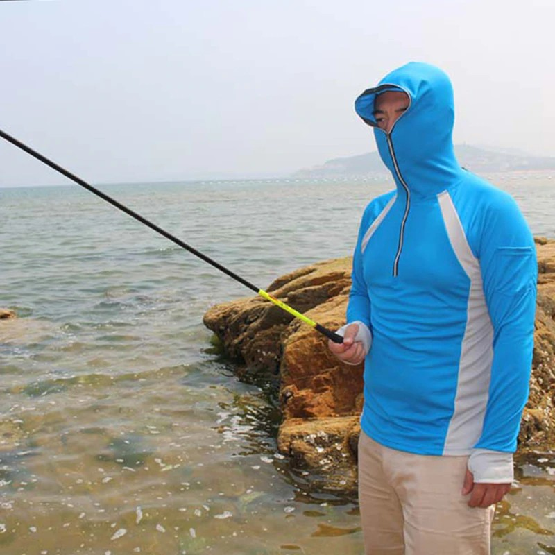 4d3219a2 Sun Protective Fishing Jacket Ultra Thin UV Protection Clothes Quick Dry  Wind | Shopee Malaysia