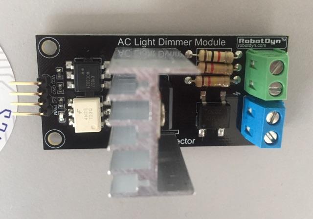 AC Light Dimmer Module for PWM control, 1 Channel, 3 3V/5V logic