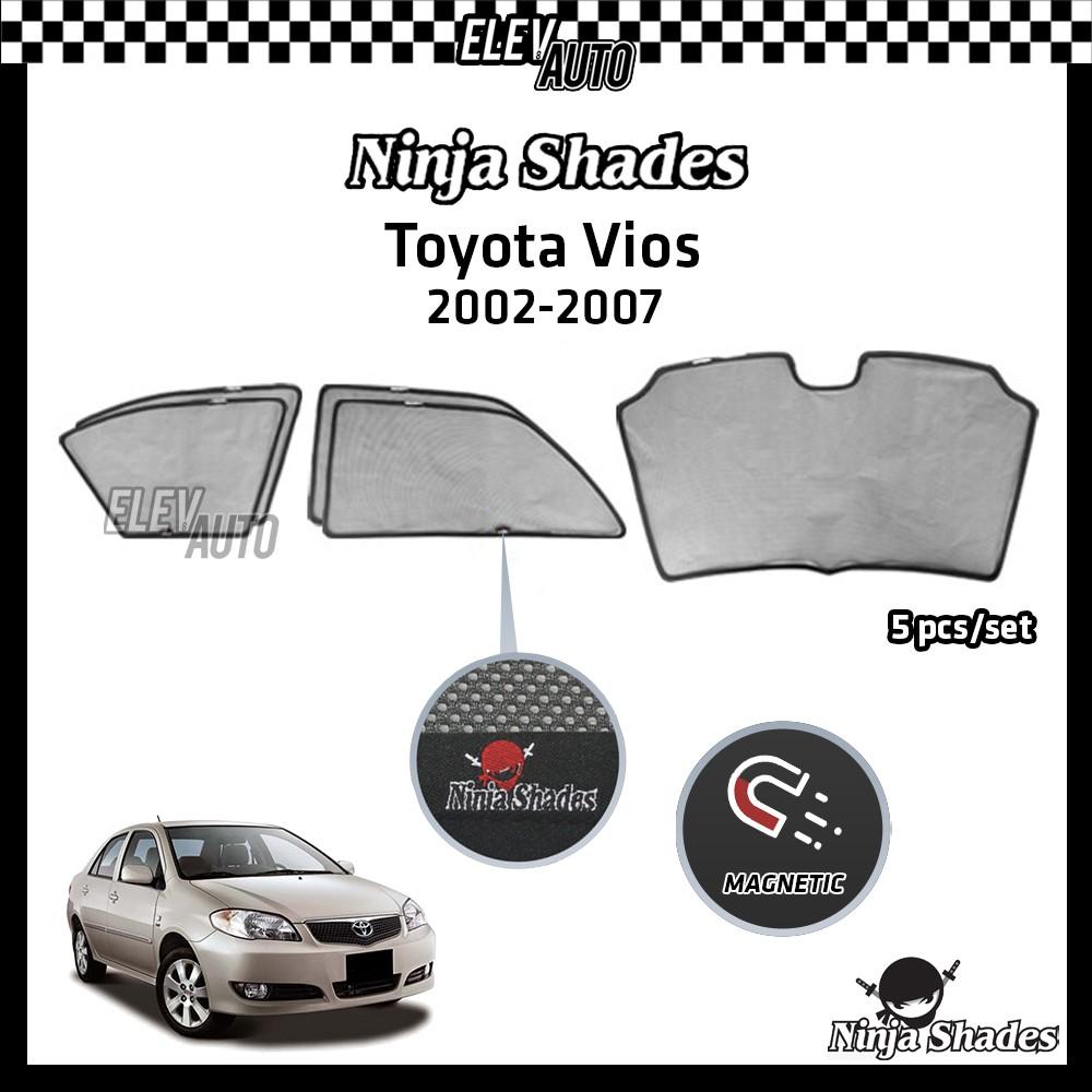 Toyota Vios (2002-2007) Ninja Shades OEM Magnetic Sunshade
