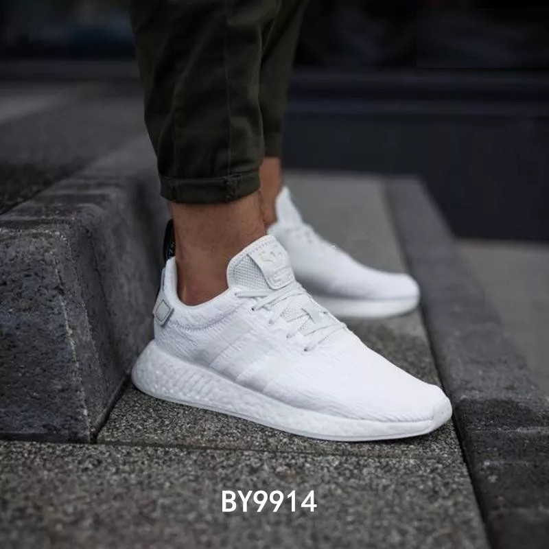 3fe49448c2865 Ready Stock Adidas NMD R2 BOOST Men  Women Running Casual Shoes BY9914