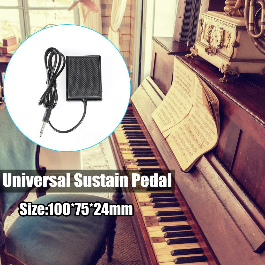 Universal Foot Sustain Pedal Controller For Electronic Keyboard Wiring Diagram Piano Yamaha Shopee Malaysia