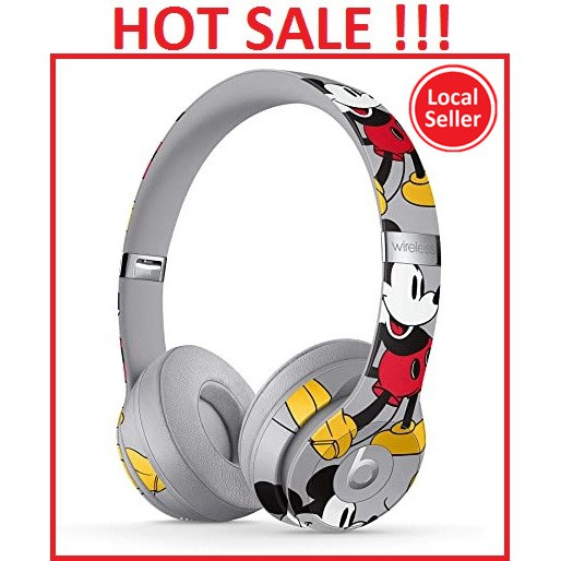 Mickey S 90th Anniversary Edition Beats Solo 3 Wireless On Ear Headphones Mickey S 90th Anniversary Edition Shopee Malaysia