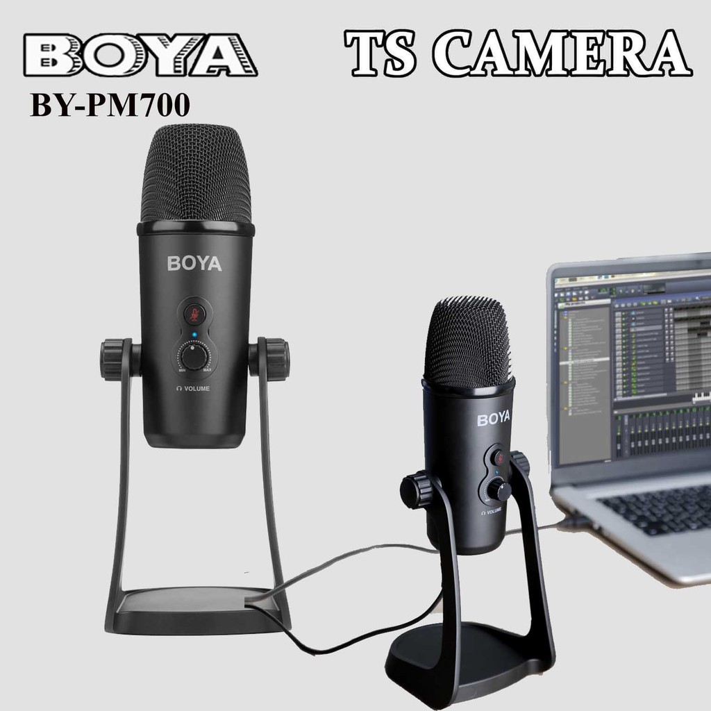 BOYA BY-PM700 USB MICROPHONE / BOYA PM700MIC / BOYA USB MICROPHONE / PC MIC