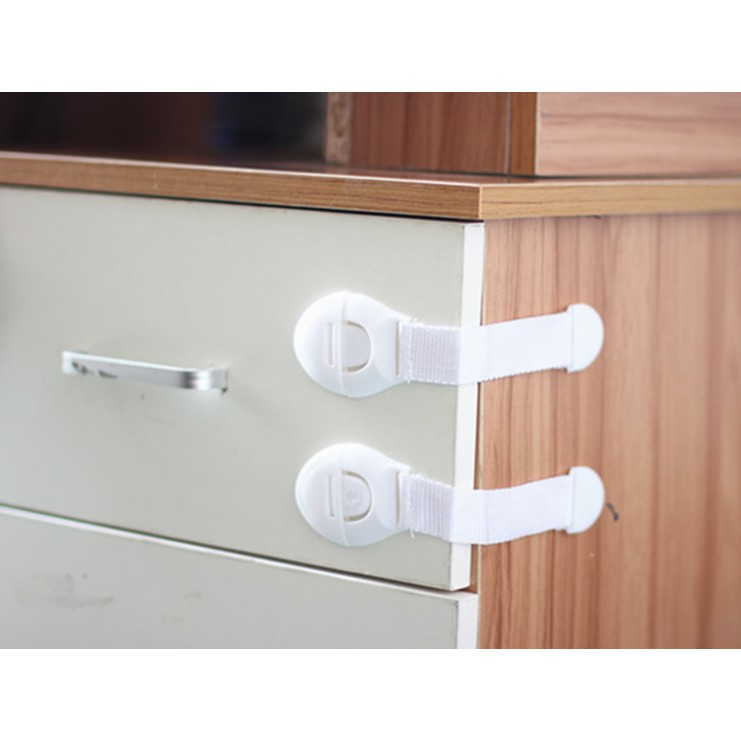 10 X Baby Kids Child Safety Locks Proof Cabinet Drawer Fridge Pets Cupboard Door