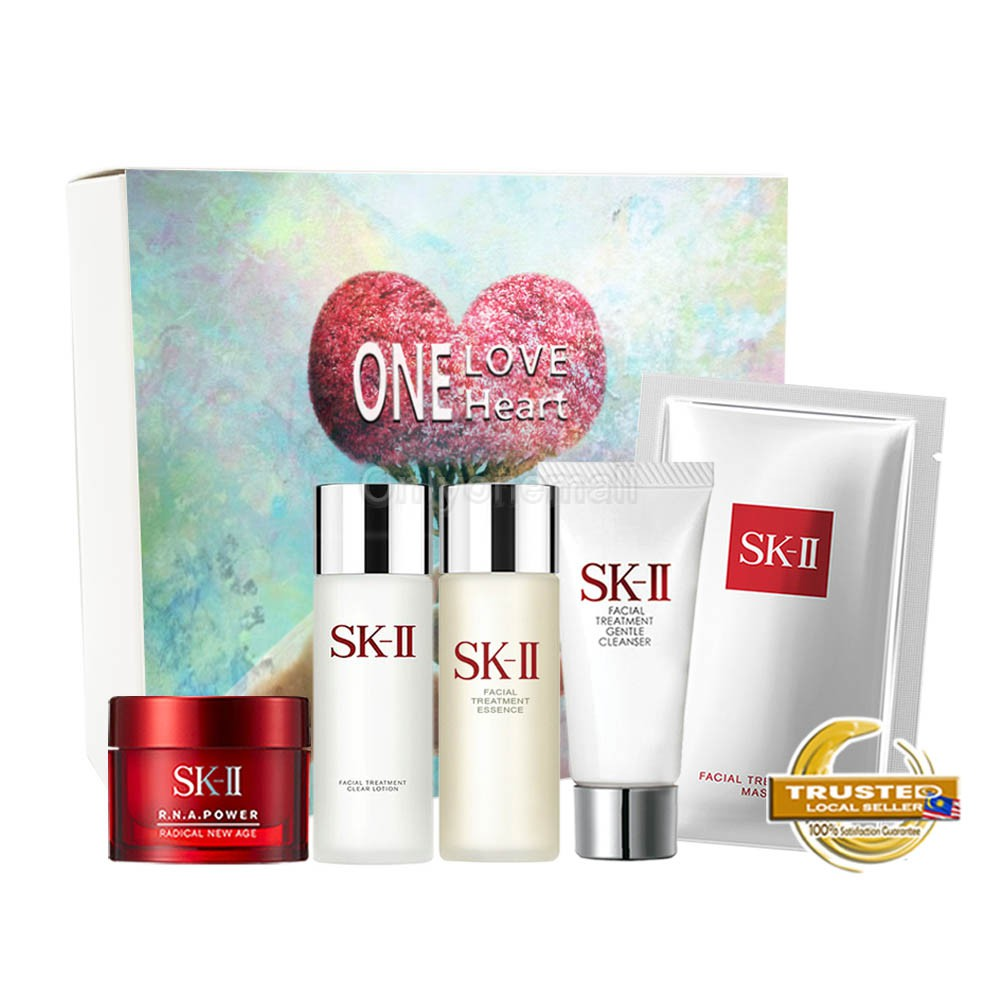 SK-II R.N.A. Power and Mask Trial Set 18 (5 items with FREE Mystery Gift)
