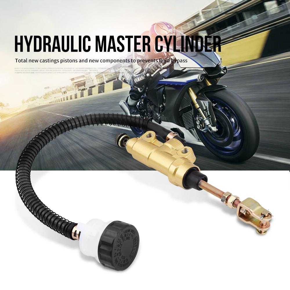 Motorcycle Rear Foot Brake Master Cylinder Pump Reservoir for Honda