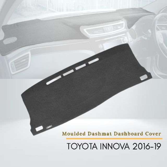 Toyota Innova 2016-2019 Car Instrument Panel Pad Instrument Panel Light-Proof Pad Cover Dashboard Cover