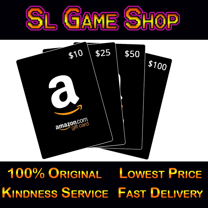 Amazon Gift Card 100 USD Redeem Code | Shopee Malaysia