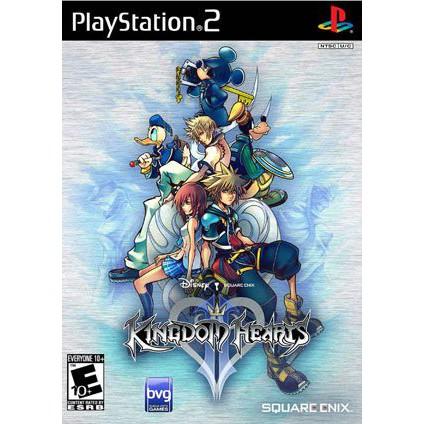 PS2  Kingdom Hearts II / Kingdom Hearts [Burning Disk]