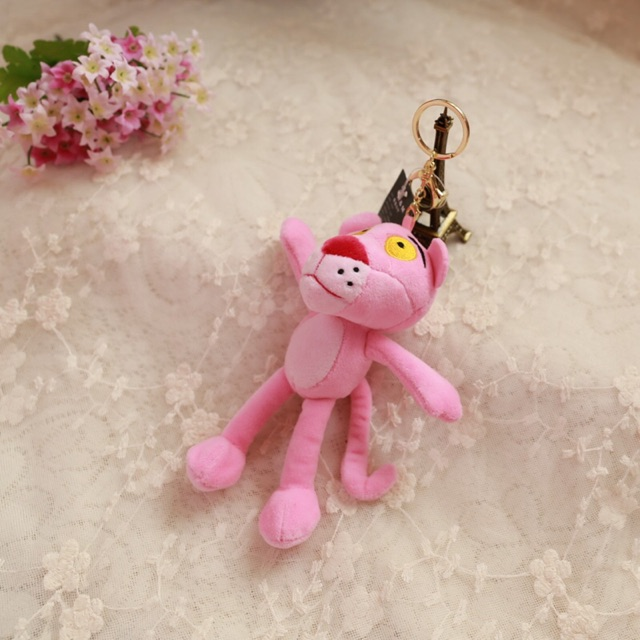 CUTE CARTOON WE BARE BEARS MYMELODY AND PINK PANTHER KEY CHAINS KEY RINGS