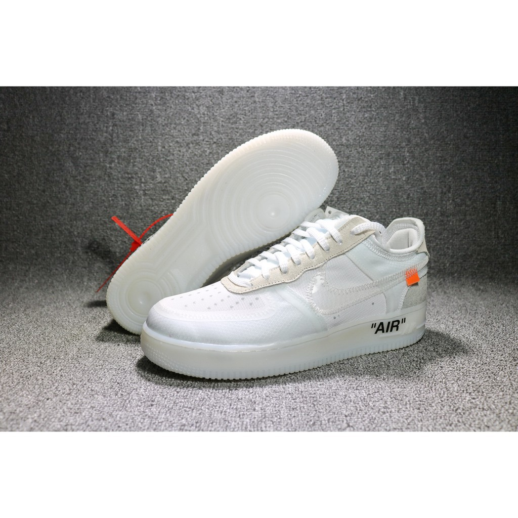 Off White x Nike Air Force 1 Low 'Ghosting'