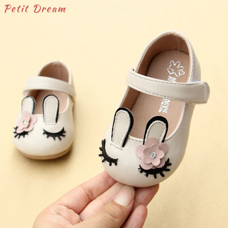 f509768cef Pada Wholesale Beige Unicorn Toddler Baby Girls Shoes PU Leather Animal